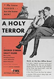 A Holy Terror Poster