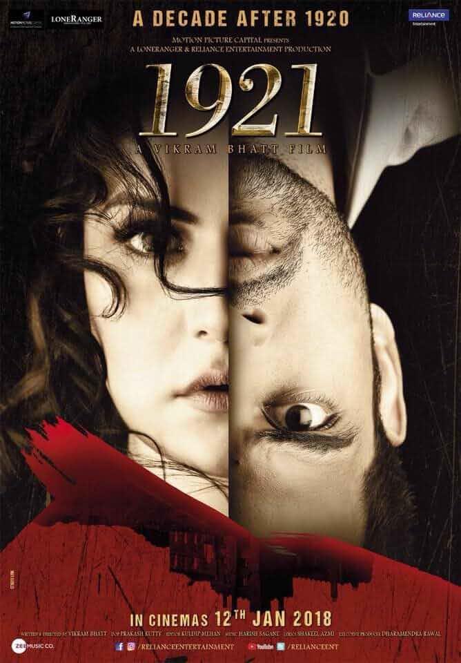 1921 (2018) Hindi Movie DVDRip x264 AAC ESubs 400MB MKV