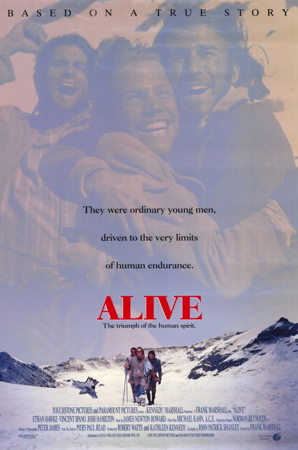 Alive 1993 Dual Audio Hindi 720p HDRip 950mb