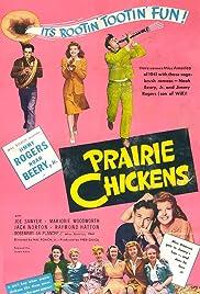 Prairie Chickens Poster