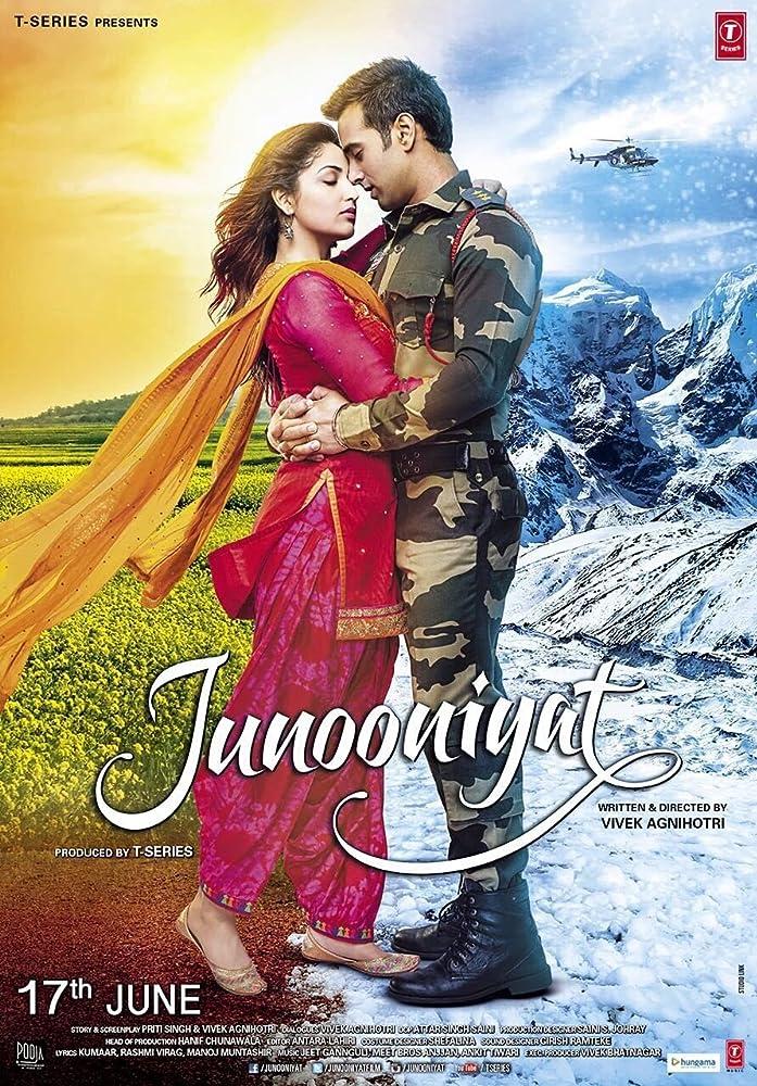 Junooniyat (2016) Hindi Movie DVDrip 700MB Watch Online Free Download