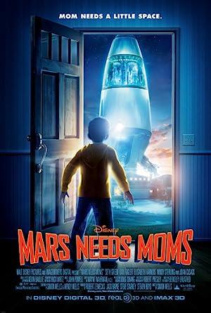 Mars Needs Moms poster
