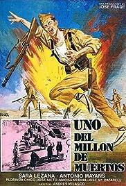 Uno del millón de muertos Poster