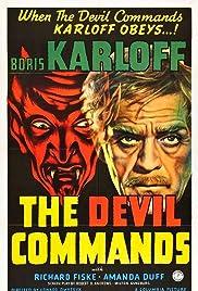 The Devil Commands(1941) Poster - Movie Forum, Cast, Reviews