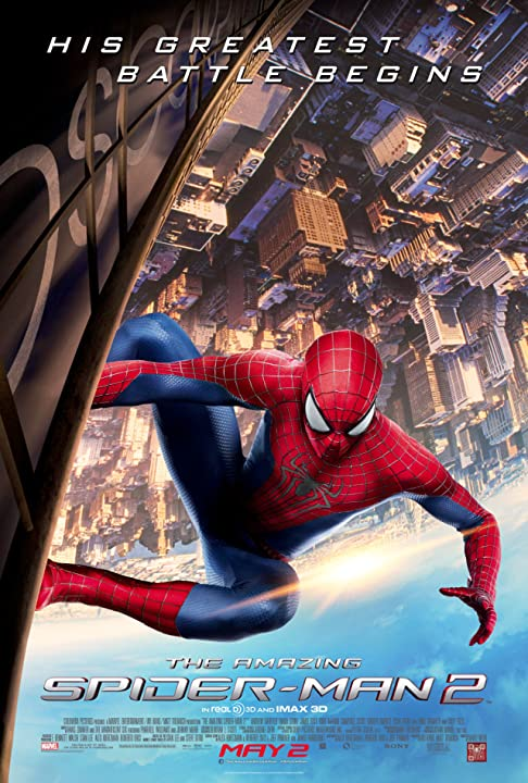 Andrew Garfield in The Amazing Spider-Man 2 (2014)