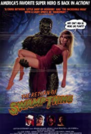 The Return of Swamp Thing Poster