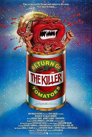 Return of the Killer Tomatoes! poster