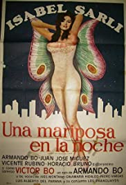 A Butterfly in the Night Poster