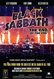 Black Sabbath the End of the End Poster