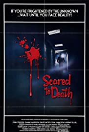 Scared to Death Poster
