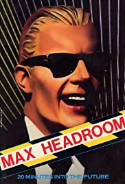 Max Headroom Poster