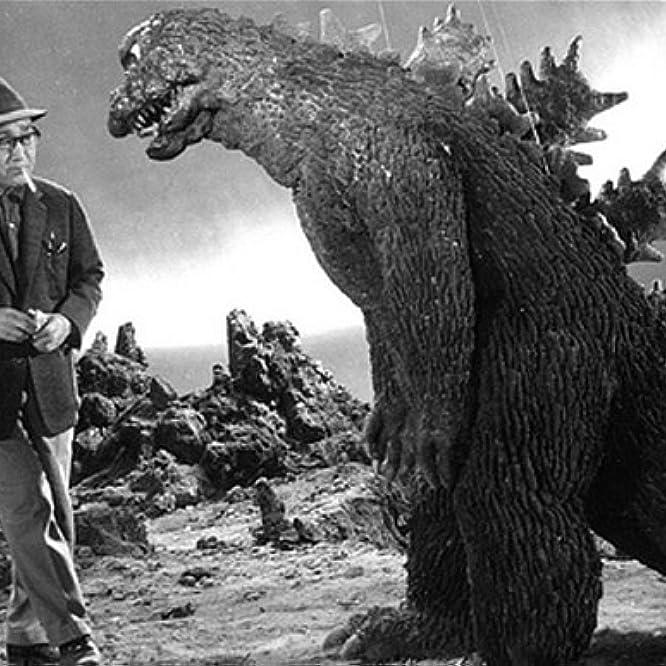 Haruo Nakajima and Eiji Tsuburaya in Invasion of Astro-Monster (1965)