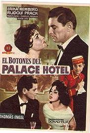 Der Page vom Palast-Hotel Poster