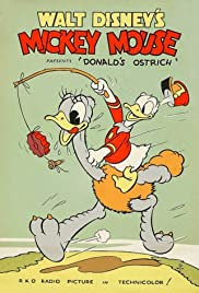 Donald's Ostrich Poster