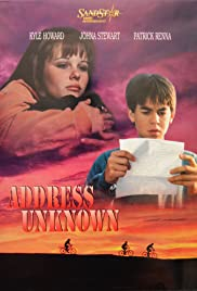 Address Unknown(1997) Poster - Movie Forum, Cast, Reviews