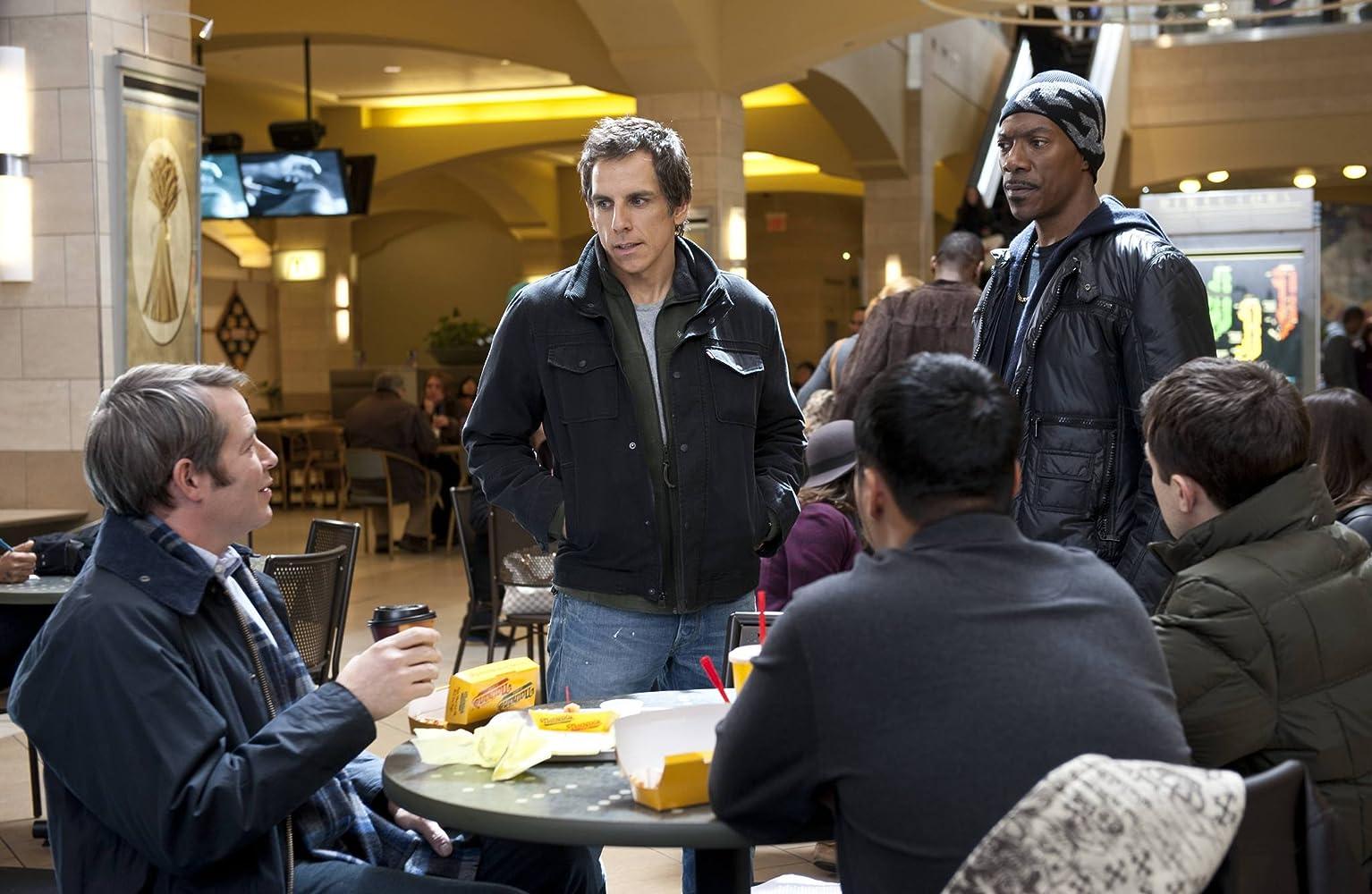 Matthew Broderick, Eddie Murphy, Casey Affleck, and Ben Stiller in Tower Heist (2011)