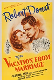 Vacation from Marriage Poster