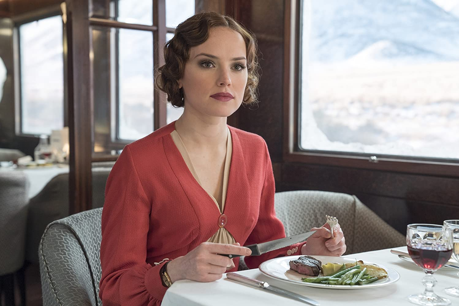 Daisy Ridley in Murder on the Orient Express (2017)