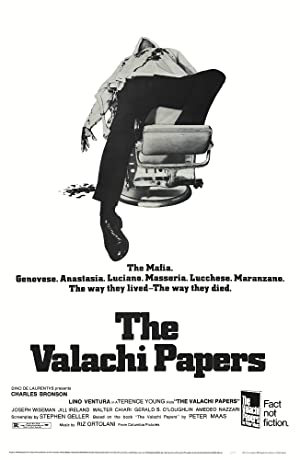 The Valachi Papers poster