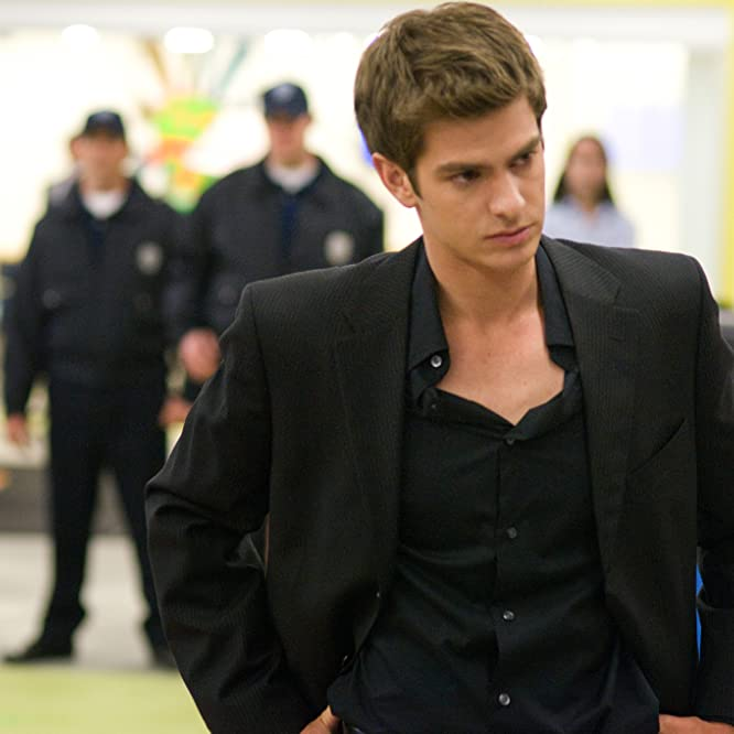 Andrew Garfield in The Social Network (2010)