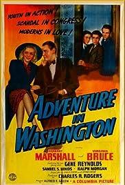 Adventure in Washington Poster