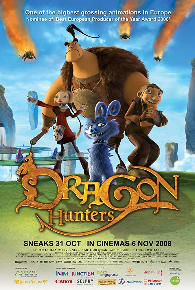 Dragon Hunters (2008) Latest Movies Free Download Dual Audio Hindi Dubbed