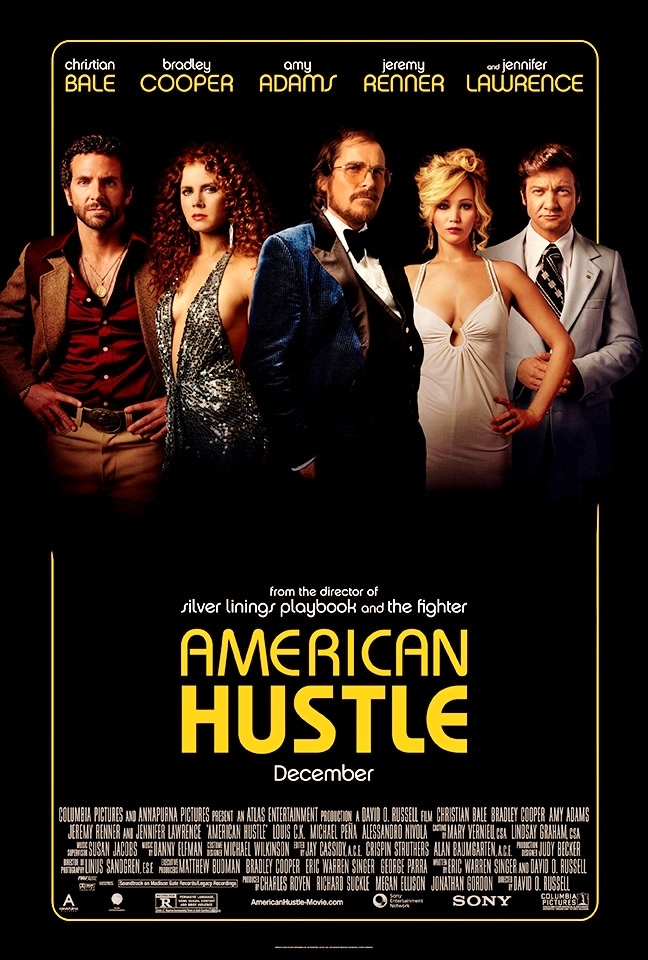 American Hustle 2013 450MB BluRay Dual Audio Hindi 480p x264 ESubs