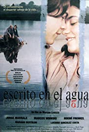 Escrito en el agua Poster