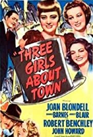 Three Girls About Town(1941) Poster - Movie Forum, Cast, Reviews