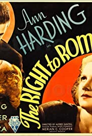 The Right to Romance(1933) Poster - Movie Forum, Cast, Reviews