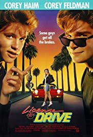 License to Drive Poster