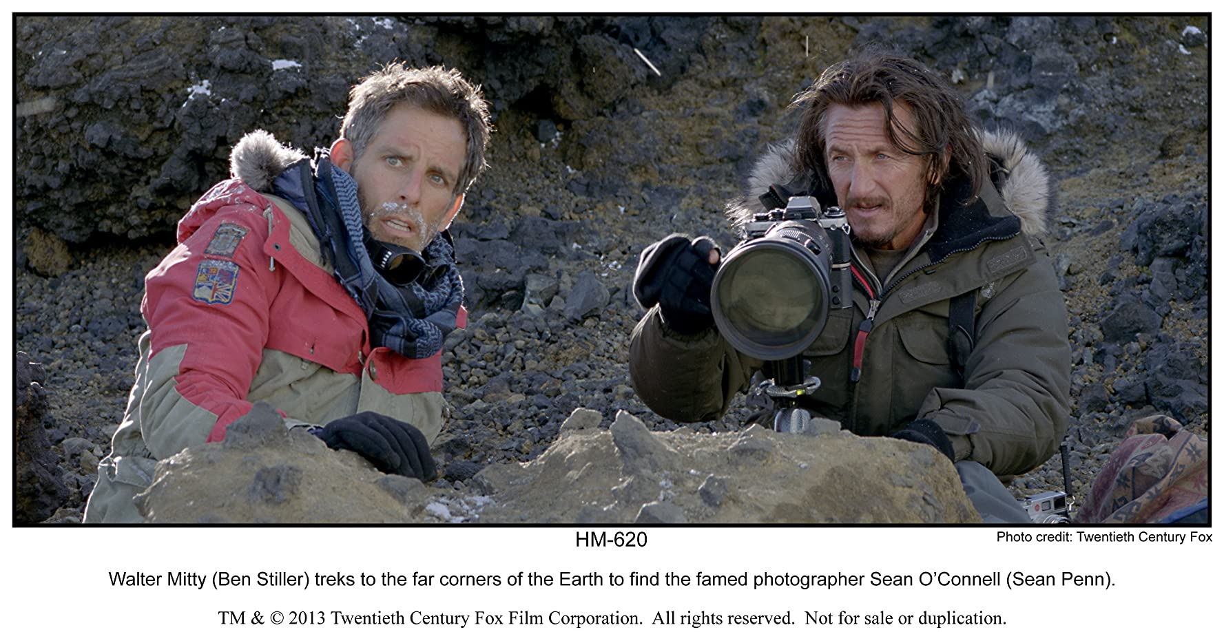 Sean Penn and Ben Stiller in The Secret Life of Walter Mitty (2013)