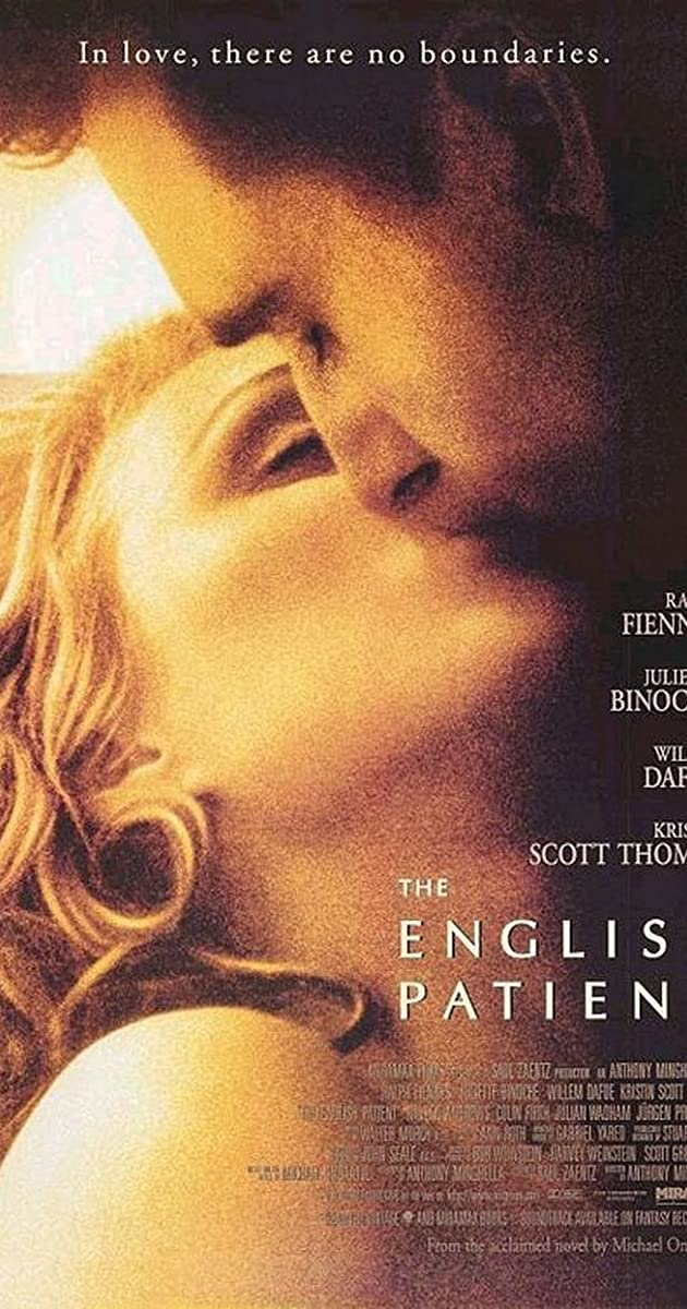 Lyric love is very patient very kind lyrics : The English Patient (1996) - IMDb