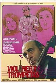 Violines y trompetas Poster