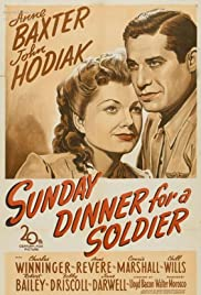 Sunday Dinner for a Soldier Poster