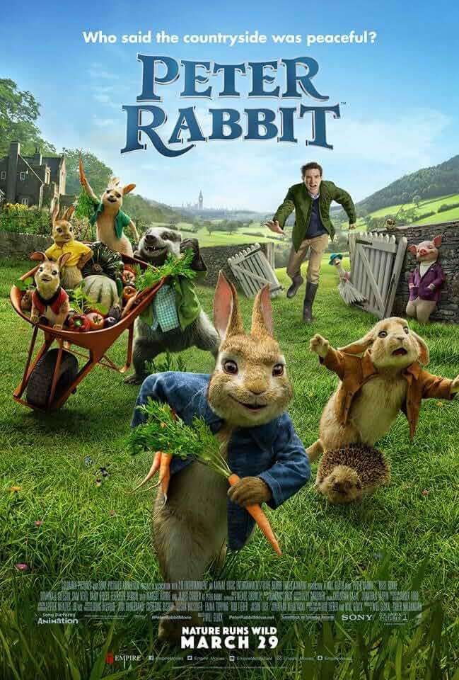 Peter Rabbit 2018 Full Movie 1080p BRRip x264 ESub
