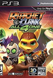 Ratchet & Clank: All 4 One Poster