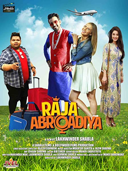 Raja Abroadiya (2018) Hindi HDTV-Rip - 480P   720P - x264 - 300MB   900MB - Download & Watch Online  Movie Poster - mlsbd