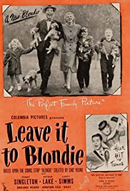 Leave It to Blondie Poster