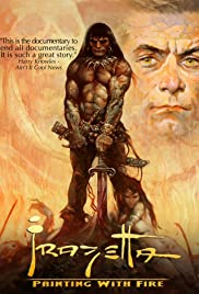 Frazetta: Painting with Fire Poster