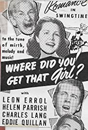 Where Did You Get That Girl? Poster