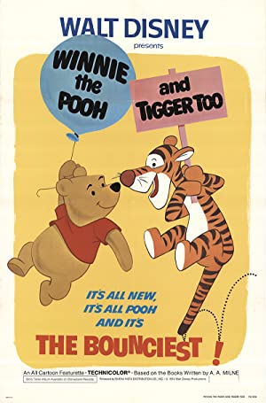 Winnie the Pooh and Tigger Too poster