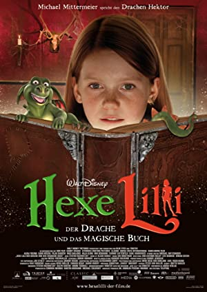 Lilly the Witch The Dragon and the Magic Book Poster