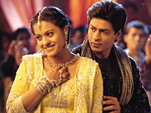 Kajol and Shah Rukh Khan in Kabhi Khushi Kabhie Gham... (2001)