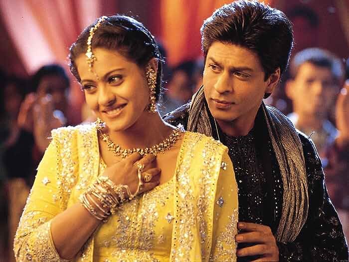 Kajol and Shah Rukh Khan in Kabhi Khushi Kabhie Gham... (2001)