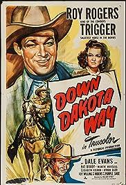 Down Dakota Way Poster