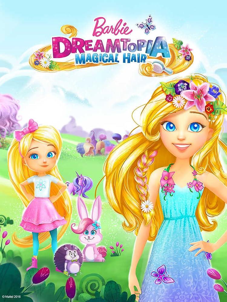 Barbie: Dreamtopia (2016) Multi Audio 720p DVDRip [Telugu + Hindi + Eng] 600MB