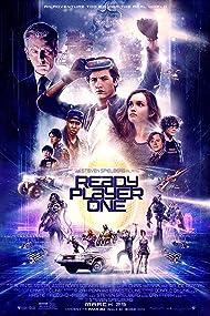 Ben Mendelsohn, Simon Pegg, Mark Rylance, Lena Waithe, Win Morisaki, Tye Sheridan, Olivia Cooke, and Philip Zhao in Ready Player One (2018)