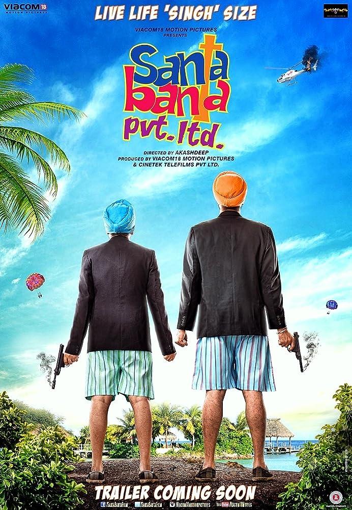 Santa Banta Pvt Ltd 2016 Full Movie Watch Online DVDRip BRRip Bluray 480p 720p 1080p Free Download Here
