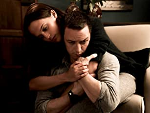 James McAvoy and Alicia Vikander in Submergence (2017)